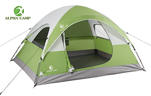 Alpha Camp 2 3 Person Camping Dome Tent With Carry Bag Lightweight Waterproof Portable Backpacking Tent For Outdoor Kheei Com