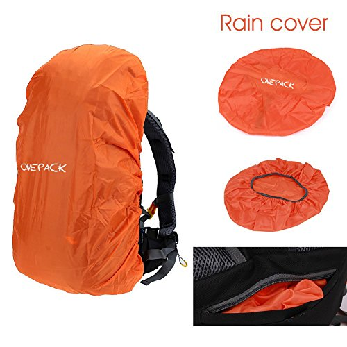 e9df0f9f45 ONEPACK 50L(45+5) Hiking Backpack Travel Daypack Waterproof Backpack Outdoor  Sports Daypack with Rain Cover for Climbing Camping ...